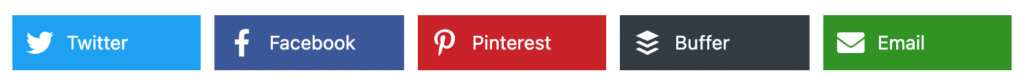 Solid share buttons