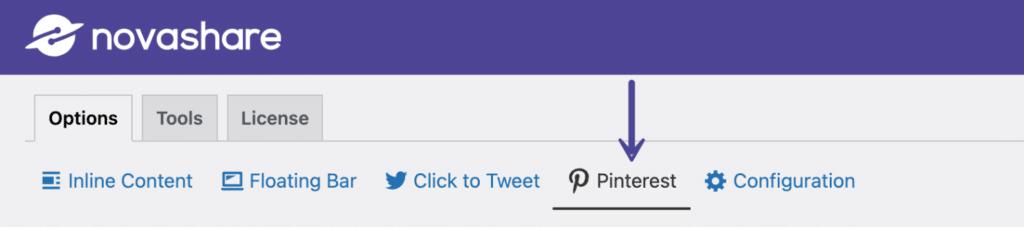 Novashare Pinterest